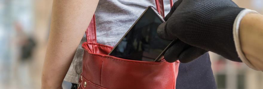 Perte de téléphone portable